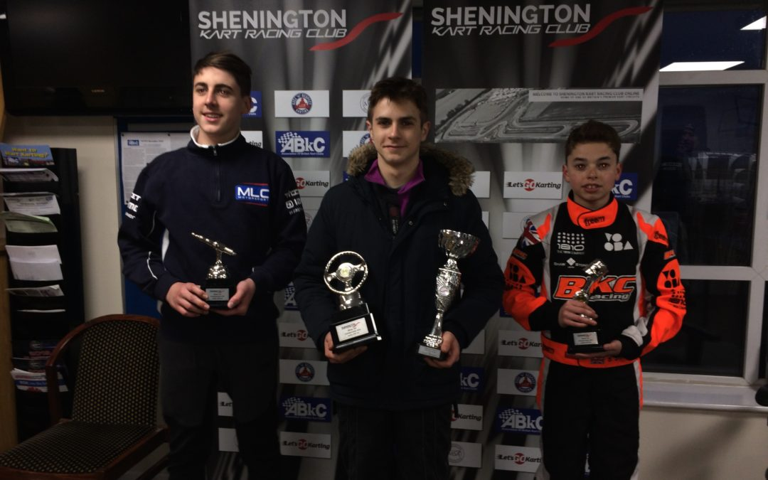 Shenington (UK) Winter Series 2019 CHAMPION!
