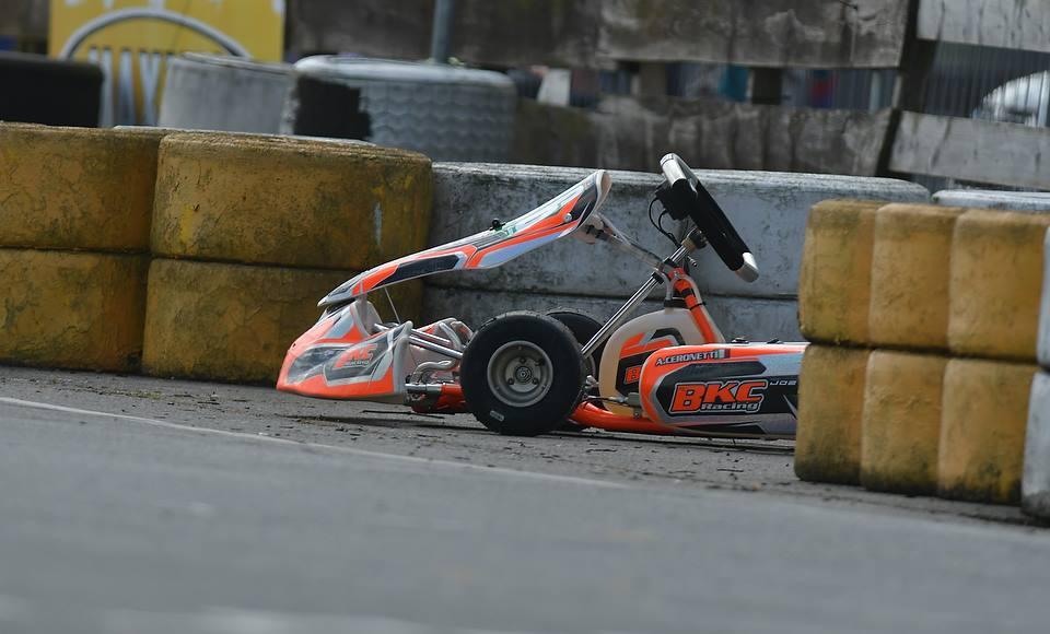 Race Anatomy of British Karting Championship Round 5&6 Larkhall.